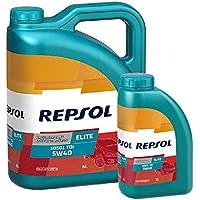 Repsol Aceite Motor Elite TDI 50501 5W-40 Pack 6 litros