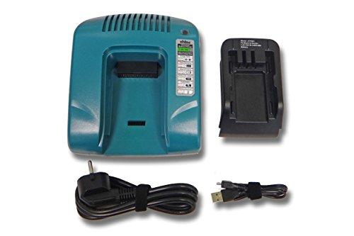 vhbw 220V Netzteil Ladegerät Ladekabel für Elektrowerkzeug Black & Decker HP122K, HP122KD, HP126F2B, HP126F2K, HP126F3B wie 5101181-02, FS14C, FS18C.