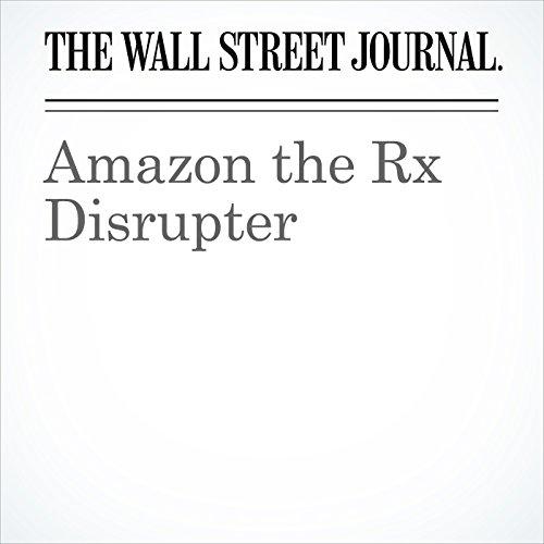 Amazon the Rx Disrupter copertina