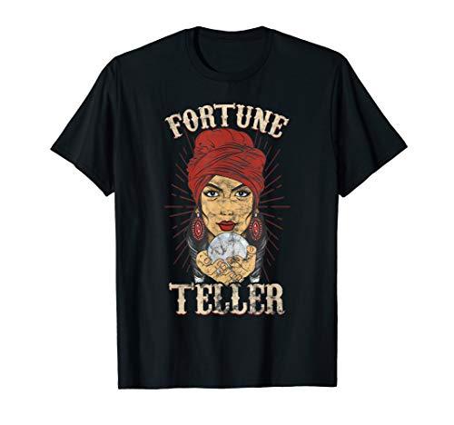 Gypsy Fortune Teller Psychic Shirt - Fortune Teller Costume T-Shirt