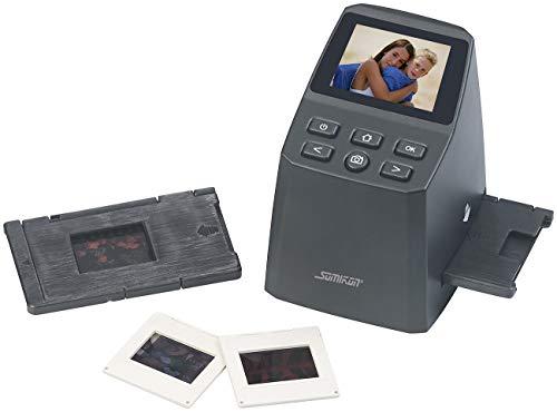 Somikon Diaprojektor: Stand-Alone-Dia- und Negativ-Scanner mit 8-MP-Sensor, 2.400 DPI (Dia digitalisieren)