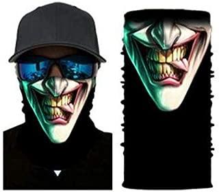 LGL Party Bandana Face Shield Mask Headwear Fishing Biker Neck Tube Scarf Skull Head