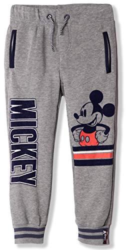 Disney Micky Maus Jogginghose für Jungen, 2-8 Jahre Gr. 8 Jahre, Grey - Large Mickey