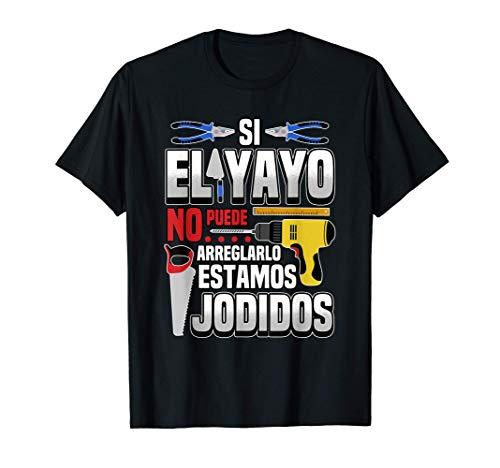 Hombre Dichos Del Abuelo Artesano Para El Día Del Padre Regalo Camiseta