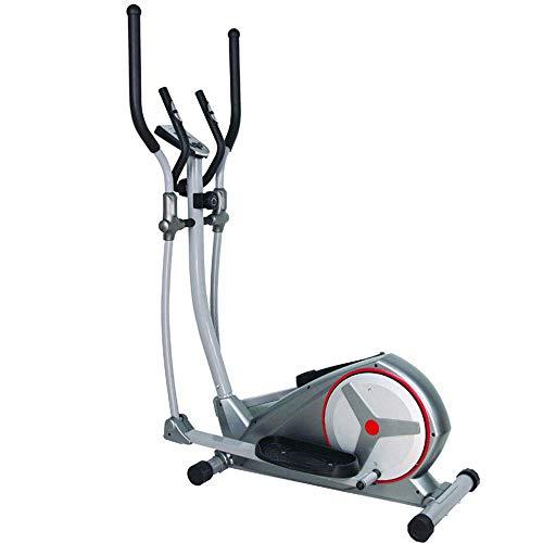 XLAHD Bicicleta elíptica para el hogar, caminadora Espacial controlada magnéticamente, pequeña Cinta de Correr silenciosa, Equipo de Deportes de Interior para el hogar