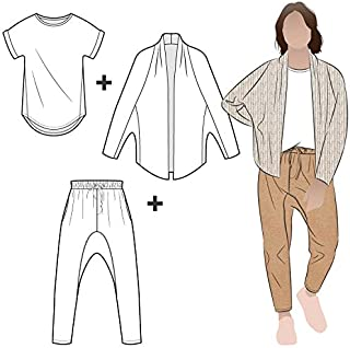 Style Arc Sewing Pattern - Palermo Outfit Bundle (Sizes 04-16)