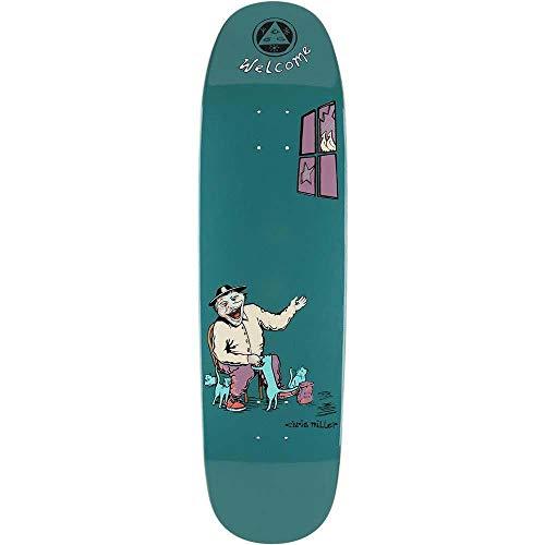 Welcome Bird Feeder Chris Miller on Catblood 2.0 - Tavola da skateboard profonda, 22,2 cm