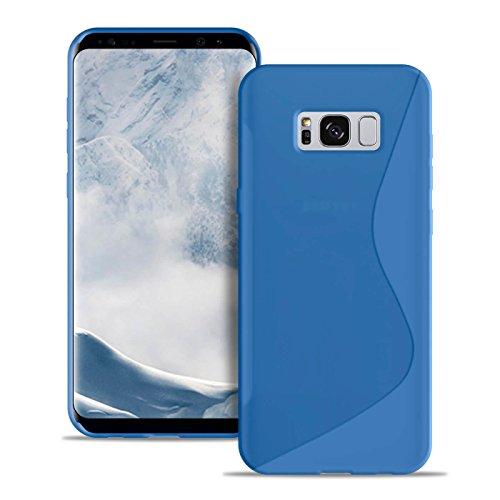 Protection S-Line gsm-hoesje voor Samsung Galaxy S8 Plus   Blauw   Licht en