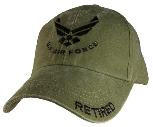 EAGLE CREST U.S. Air Force Retired Cap Green