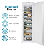 ElectrIQ Built - In Integrated No Frost Freezer