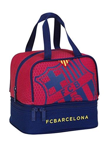 F.C. Barcelona 2018 Trousses 25x8x20 Centimeters Bleu/Granit