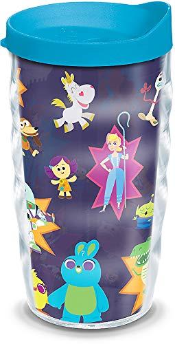 Tervis Disney/Pixar – Toy Story 4 Collage vaso aislado con envoltura y tapa, 10 oz, transparente