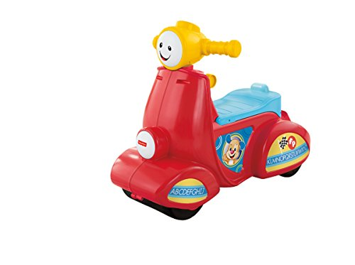 Fisher-Price - Cgt06 - Educational Awakening - Awakening Scooter Progressive