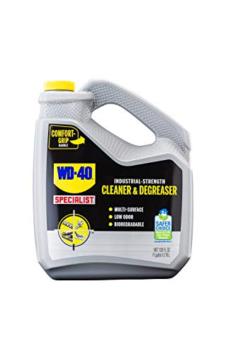 WD-40 300363 Specialist Industrial-Strength Cleaner & Degreaser, 1 Gallon, 128. Fluid_Ounces