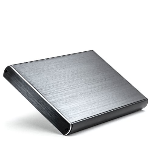 CSL - Externes 2.5 Zoll USB 3.0 Festplattengehäuse - für SATA I II III HDD SSD Case - Alugehäuse für optimale Kühlung