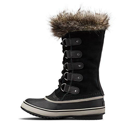 Sorel Women's Joan of Arctic Boots, Black/Quarry, 9 Medium US