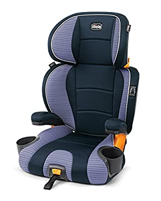 Chicco KidFit 2-in-1 Belt-Positioning Booster Car Seat, Celeste