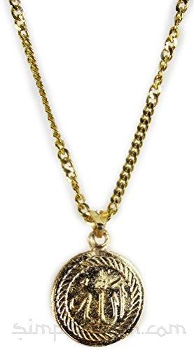 Goldkette mit Goldanhänger Allah / Ayat al Kursi