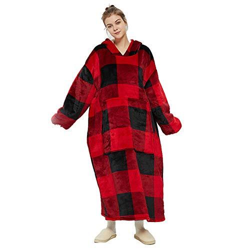 Erwachsene Hoodie Decke, übergroße Sherpa Hoodie Damen, Übergroße Sherpa Hoodie Sweatshirt Decke, Weiche Warme Riesen Hoodie Männer Frauen (Zeitplan)