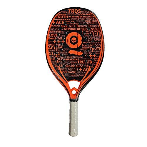 Turquoise Racchetta Beach Tennis Racket Black Death Challenge 2021 (Orange)