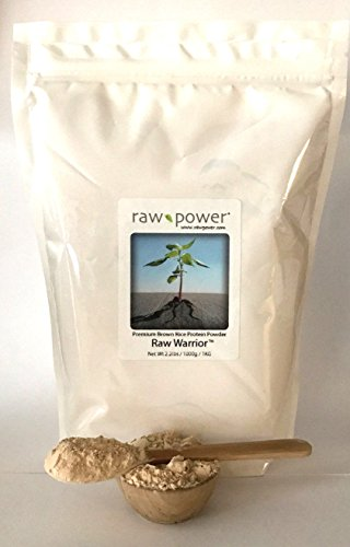 Raw Warrior Brown Rice Protein Powder