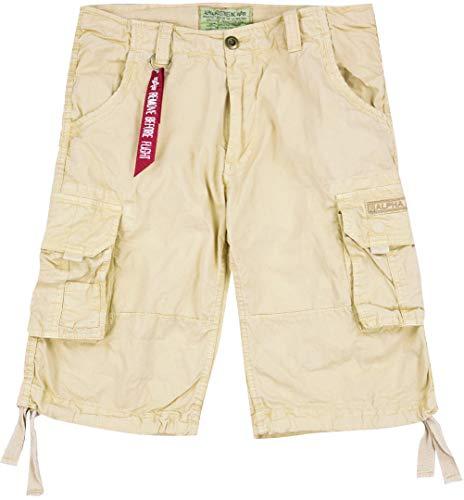 Alpha Industries Jet Shorts Sand 32