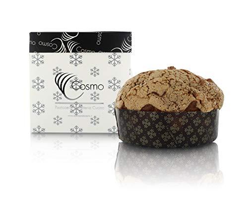 Panettone Artesanal con Chocolate, Pera y nueces - Pastelería Cosmo (500 gr)