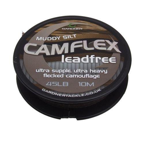 Gardner Camflex Leadfree 45lb (20,4 Kg) Muddy Silt - 10m
