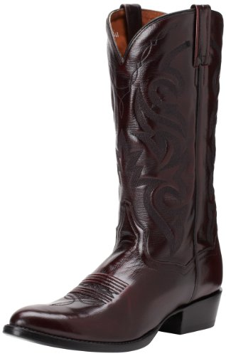 Dan Post Men's Milwaukee 13 inch R Toe Western Boot,Black Cherry,10.5 D US