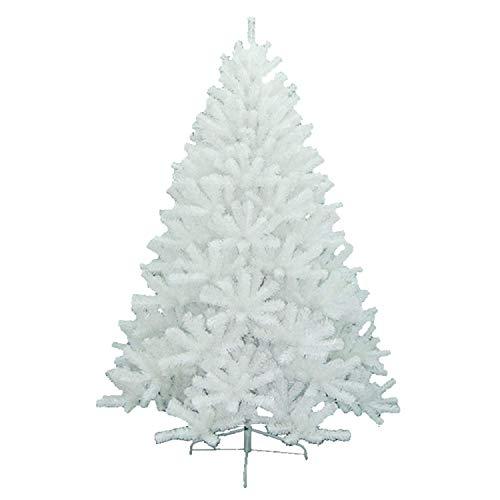 ホワイト クリスマスツリー 120cm 150cm 180cm 210cm 240cm 60cm 90cm 松かさスノータイプ クリスマス 飾り 置物 デコレーション ツリー 白 クリスマス用品 ABS樹脂 PVC パーティー小道具 (120cm)