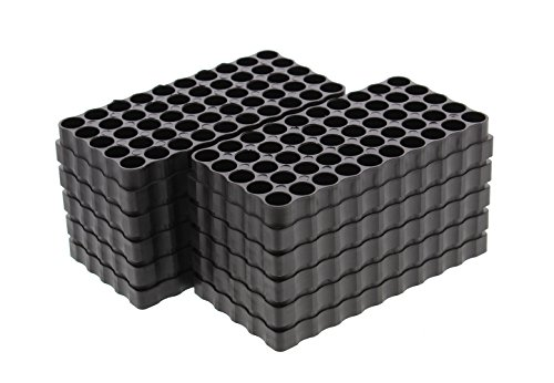 Redneck Convent Small Caliber 50 Round Universal Reloading Ammo Tray Loading Blocks 10 Pack