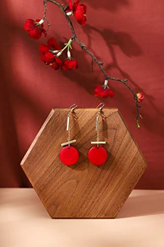 GemeShou Soporte de exhibición de collar de madera pendiente colgante titular de la joyería al por menor exhibición de exhibición de la joyería Riser Prop【Tablero de exhibición del collar de la