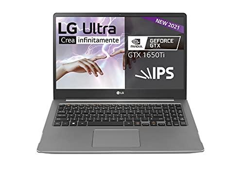 LG UltraPC 15U70P Windows 10 Home Edition (64bit), 39.6 cm (15.6'), Formato FHD (1920*1080px), 1.9 Kg, 17.5h, 16 GB de RAM, HD, X Ultra, Teclado Español, Plata