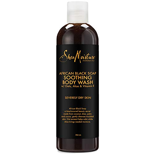 Shea Moisture African Black Soap Soothing Body Wash 384ml SD21562