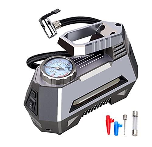 Gonfiatore per pneumatici a compressore d'aria auto portatile 150 PSI 1 2V DC. Pompa dei pneumatici con manometro digitale Auto Bright Emergency Tholer (Color Name : Pointer)