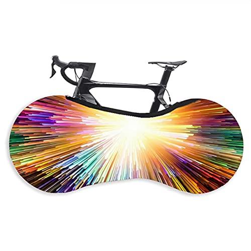 Cubierta de rueda de bicicleta, cubierta universal para bicicleta de carretera y montaña, cubierta de neumático práctica a prueba de polvo para neumáticos de 26 – 28 pulgadas (color: B)