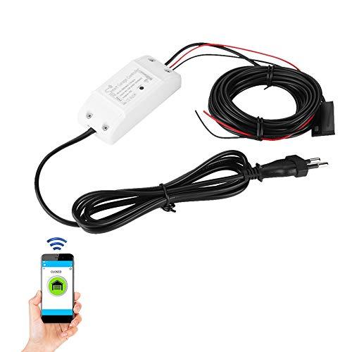 Tosuny Dispositivo de Apertura remota de la Puerta del Control Remoto de la Puerta del Garaje WiFi Switch, Control de APLICACIÓN del teléfono de Soporte, Funciona con Alexa y Google(EU)