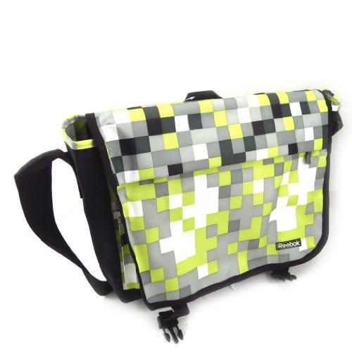 La bolsa de mensajero 'Reebok' gris (equipo especial).