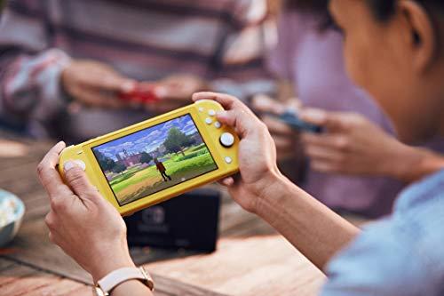 Console Nintendo Switch Lite - Jaune - 4