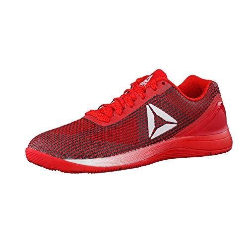 Reebok R Crossfit Nano AVY49, Zapatillas Deportivas para Interior Mujer, Rojo (Primal Red/black/white/silver), 38 EU