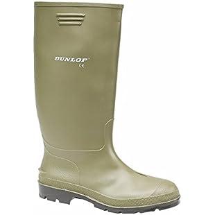 Grisport Unisex Adults Dunlop Budget Welly Multisport Outdoor Shoes, Green (Green), 12 UK 47 EU