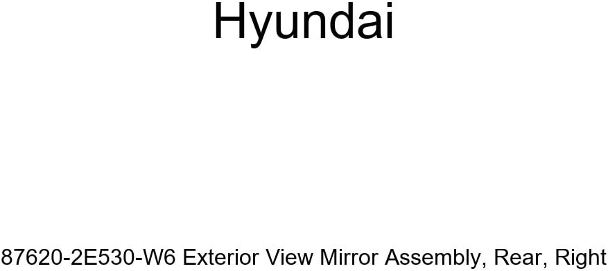 Genuine Hyundai 87620-2E530-W6 Exterior Re View Assembly Bombing free NEW before selling ☆ shipping Mirror