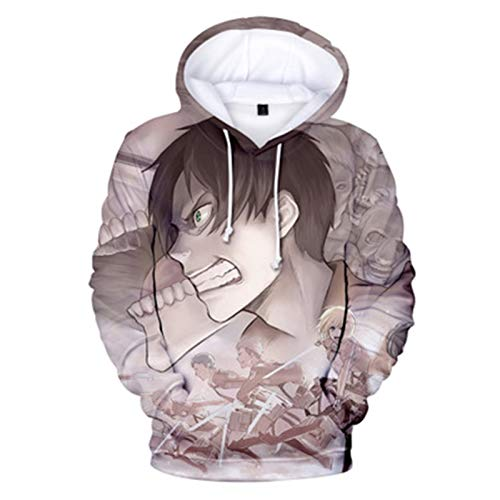 2021 New Anime Anime Hoodie Pullover - Ataque en Titan Levi.ackerman Imprimir...