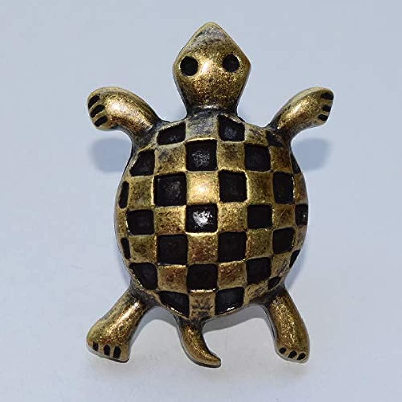 Kids Dresser Drawer Knobs Pulls Handles Sea Turtle Antique Bronze Baby Animal Decorative Childrens Cabinet Knobs Handle