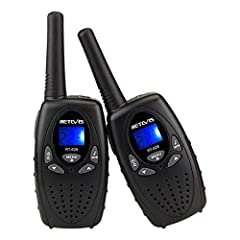Built-in flashlight;when camping outdoors;children can explore scavenger hunt outdoors;even in the dark environment;it can bring a lot of fun to children. Lightweight;79g kids walkie talkies is easy to carry;very suitable for hide and seek games betw...