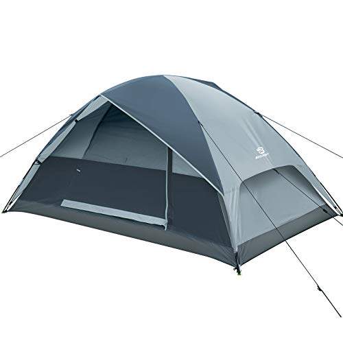 Bessport 2 Personen Zelt Wasserdicht 3-4 Saison Zelte Ultraleichte Camping Kuppelzelt Sofortiges Aufstellen für Trekking, Outdoor, Festival, Camping, Rucksack, mit kleinem Packmaß
