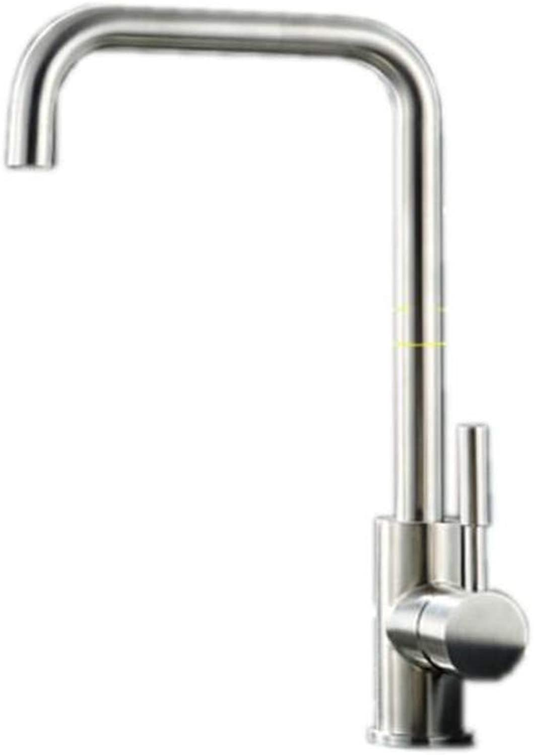 Taps Mixer?Swivel?Faucet Sink Stainless Steel Kitchen Sink Hot and Cold Faucet Laundry Pool Sink Faucet Can Be redated