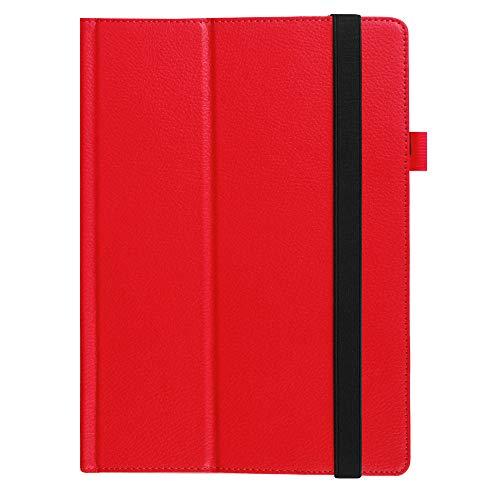 Geeignet für Lenovo MIIX310 Schutzhülle MIIX 310-210 Tablet Computer Ledertasche 10 Zoll Stützhülle-rot_Lenovo MIIX310