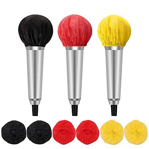 Feelava - Fundas para parabrisas de micrófono, 200 unidades, desechables, no tejidas,...
