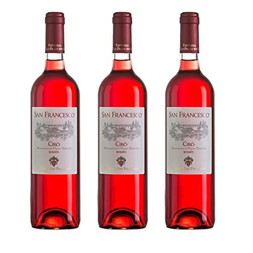 Vino Cirò Iuzzolini San Francesco Rosato - 3 Bottiglie 0.75l